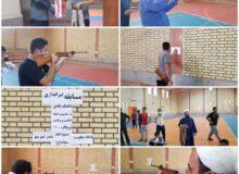 برگزاری مسابقه تیراندازی به مناسبت دهه امامت و ولایت |  گزارش تصویری