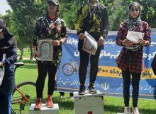 كسب سه مدال از بانوان دوچرخه سوار كنگانی در مسابقات كوهستان استان بوشهر + تصاویر
