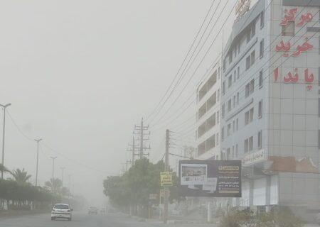 حجم ریز گردها در هوای شهر کنگان به وضعیت خطرناک برای همه گروه های سنی رسید