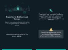 نسخه بتا واتس اپ امنیت کاربر بی اطلاع به خطر می اندازد
