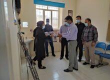 تجلیل از پرسنل محترم خانه بهداشت شیرینو توسط شورای اسلامی و دهیاری بمناسبت گرامیداشت روز بهورز
