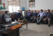 نشست صمیمی رئیس محترم آموزش و پرورش جناب آقای محمد داد با مدیران مدارس بندر شیرینو